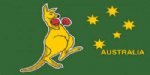 Australia Kangaroo Large Country Flag - 5' x 3'.